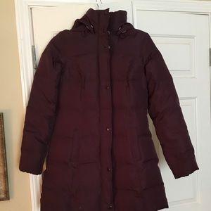 Beautiful Burgundy Puffer Jacket